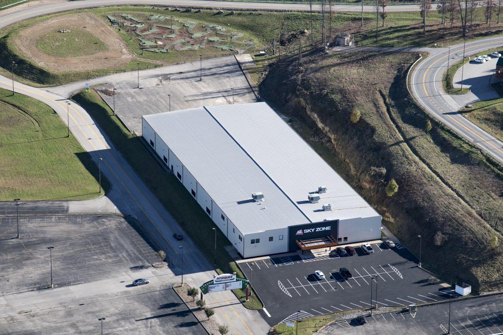 Sky Zone Building Available Space Ridgeline Inc West